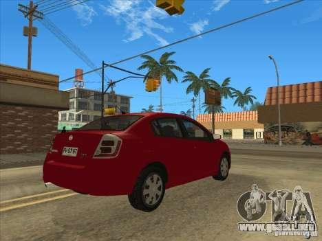 Nissan Sentra 2012 para GTA San Andreas left