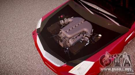 Cadillac CTS-V Coupe para GTA 4 vista desde abajo
