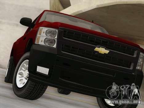Chevrolet Silverado 2500HD 2013 para la vista superior GTA San Andreas