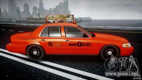 Ford Crown Victoria 2003 v.2 Taxi para GTA 4 vista interior