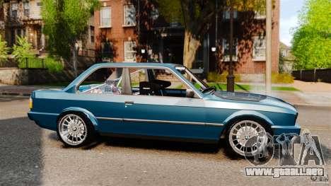 BMW E30 V8 Drift para GTA 4 left