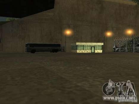 Bus Parque v1.1 para GTA San Andreas sexta pantalla