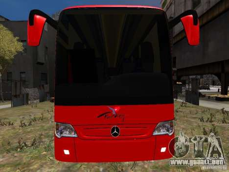 Mercedes Travego para GTA 4 vista superior