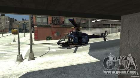 NYC Helitours Texture para GTA 4 visión correcta