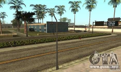 Grove Street 2013 v1 para GTA San Andreas décimo de pantalla