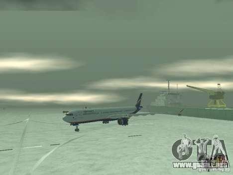 El Airbus A330-300 Aeroflot para GTA San Andreas