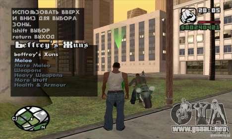 Gun Seller para GTA San Andreas tercera pantalla
