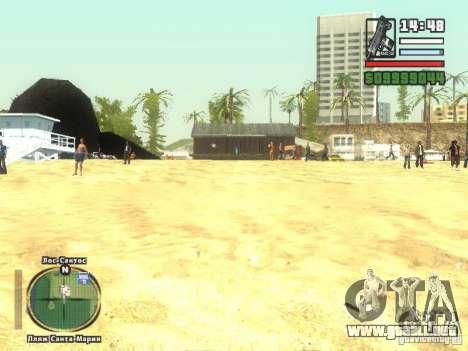 Nuevo Beach bar Verona para GTA San Andreas tercera pantalla