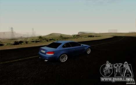 BMW 1M 2011 V3 para visión interna GTA San Andreas