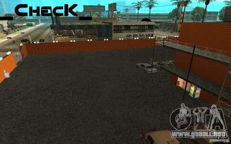 San noticias de respawn para GTA San Andreas quinta pantalla