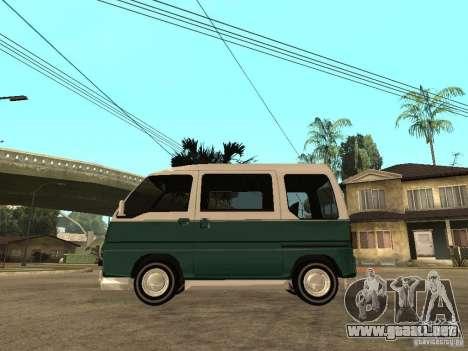 VW T1 Samba para GTA San Andreas left