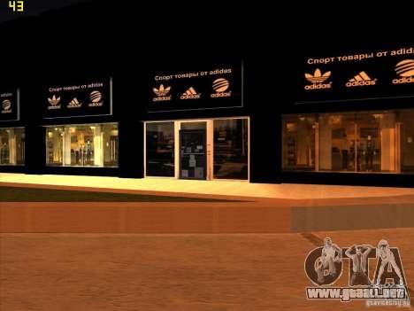 Reemplazo total de la tienda Binco Adidas para GTA San Andreas tercera pantalla