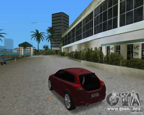 Volvo C30 para GTA Vice City left