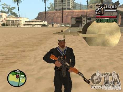 Marinero para GTA San Andreas tercera pantalla