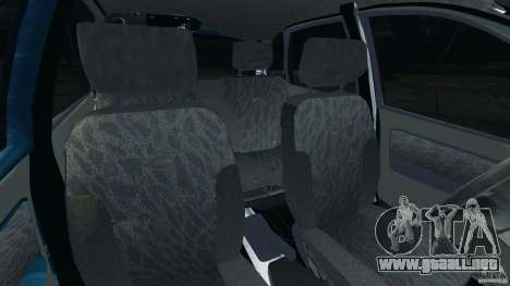 Vaz-1119 Kalina para GTA 4 vista interior