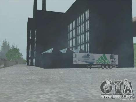 Adidas nuevo para GTA San Andreas quinta pantalla
