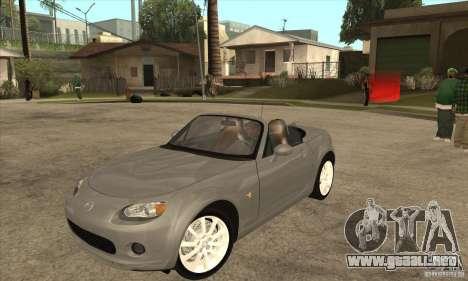 Mazda MX-5 2007 para GTA San Andreas
