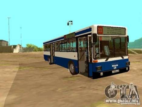 MAN SL202 para la visión correcta GTA San Andreas