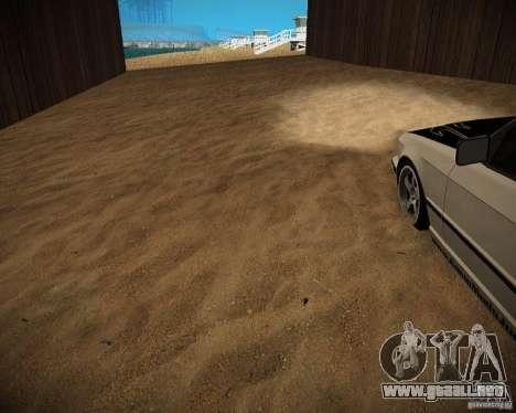 New textures beach of Santa Maria para GTA San Andreas novena de pantalla