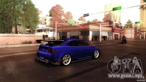 Acura RSX Spoon Sports para GTA San Andreas vista hacia atrás