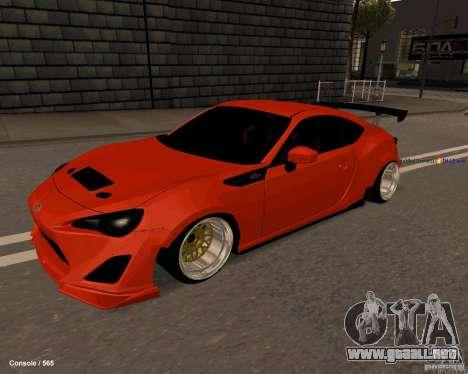 Scion FR13 para GTA San Andreas