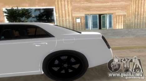 Chrysler 300C SRT V10 TT Black Revel 2011 para GTA Vice City left