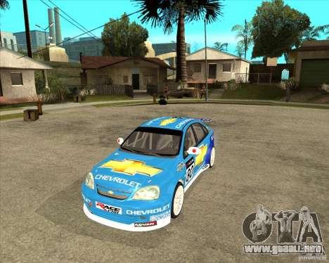 Chevrolet Lacetti WTCC para GTA San Andreas