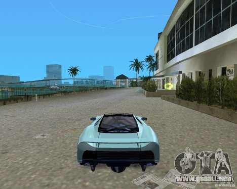 Jaguar XJ220 para GTA Vice City visión correcta