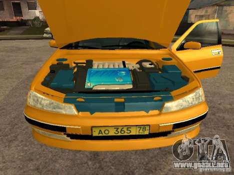 Peugeot 406 Taxi para la visión correcta GTA San Andreas
