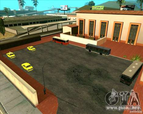 Priparkovanyj transporte v1.0 para GTA San Andreas segunda pantalla