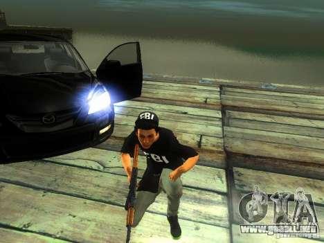 Chico en el FBI para GTA San Andreas segunda pantalla