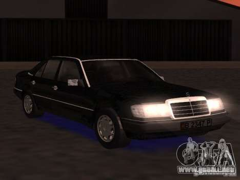 Mercedes-Benz 300E para GTA San Andreas left