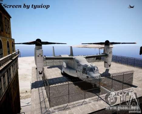 Osprey MV-22 para GTA 4