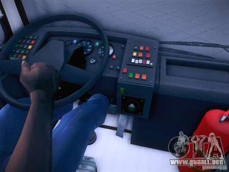 Ikarus 415 para la vista superior GTA San Andreas