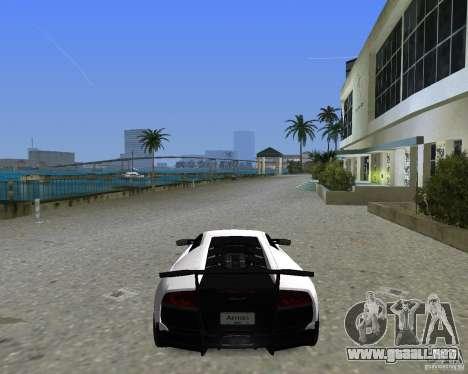 Lamborghini Murcielago LP670-4 SV para GTA Vice City vista lateral izquierdo