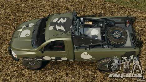 Dodge Power Wagon para GTA 4 Vista posterior izquierda