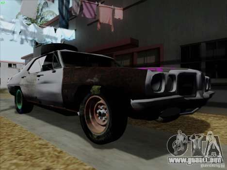 BETOASS car para GTA San Andreas left