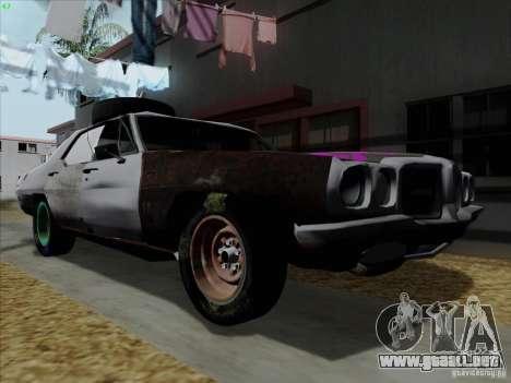 BETOASS car para GTA San Andreas left