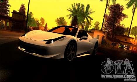 SA_gline 4.0 para GTA San Andreas tercera pantalla