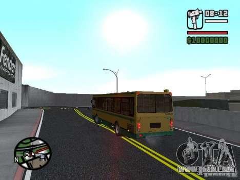 LIAZ 5283.01 para visión interna GTA San Andreas