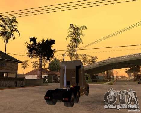 SuperZiL v. 2.0 para GTA San Andreas vista posterior izquierda