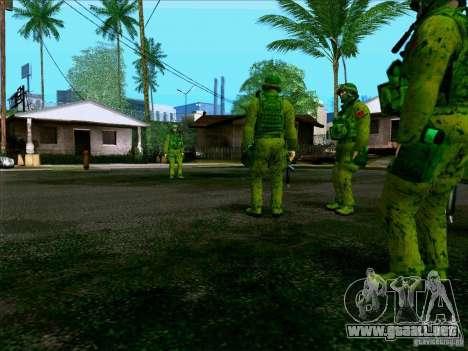 Camuflaje bosque Morpeh para GTA San Andreas sexta pantalla