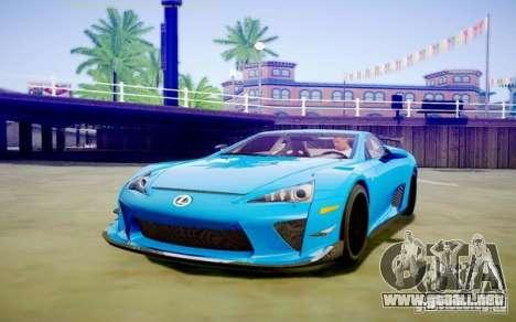 Sompelling ENBSeries para GTA San Andreas séptima pantalla