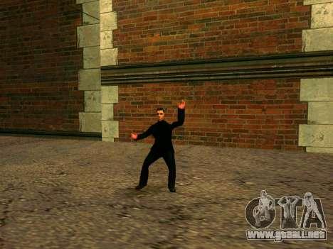Entrenamiento Vusi para GTA San Andreas segunda pantalla
