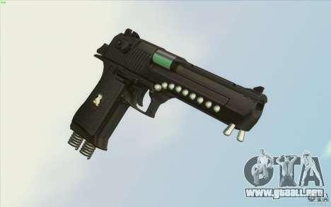 Low Chrome Weapon Pack para GTA San Andreas sexta pantalla