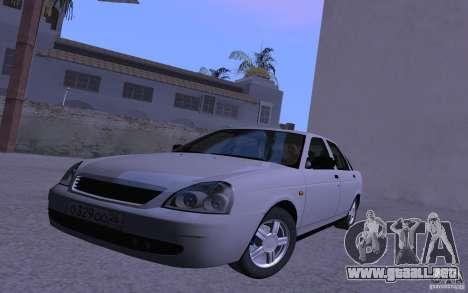 LADA Priora 2170 Brend para GTA San Andreas