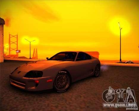 Toyota Supra SHE para GTA San Andreas