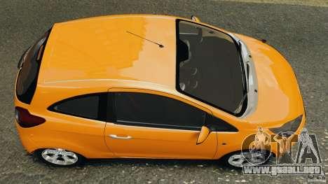 Ford Ka 2011 para GTA 4 visión correcta