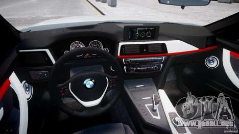 BMW 335i E30 2012 Sport Line v1.0 para GTA 4 visión correcta