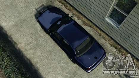 Ford Crown Victoria Police Unit [ELS] para GTA 4 visión correcta